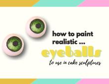How to paint realistic eyeballs