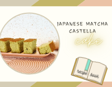 Castella Cake Featured