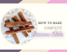 How to make cinnamon sticks