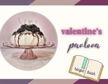 Valentines Pavlova recipe