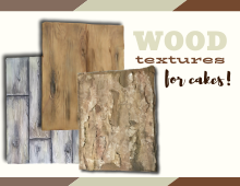 Wood Textures for Cakes