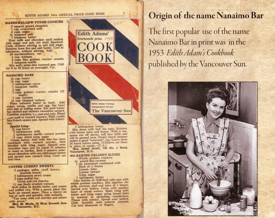 Edith Adams Cookbook